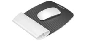 Mausmatte +Handg.Auf weiß FELLOWES FW9314802 CRC93148 Produktbild