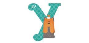 Tierbuchstaben 10cm Yak TRUDI SEVI 81625 Produktbild