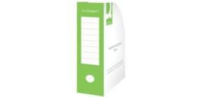 Stehsammler A4 100mm grün Q-CONNECT KF15847 Karton Produktbild