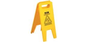 Warnschild 7577 gelb VILEDA 2029717 Rutschgefahr Produktbild