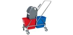 Reinigungswagen 2x 15 Liter 2038256 Produktbild