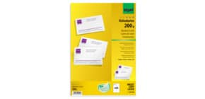 Visitenkarte A4 600 Stück weiß SIGEL DP939 200g 60 Blatt Produktbild