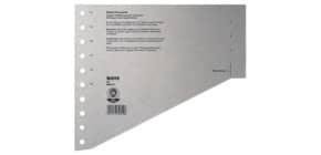 Staffeltrennblatt  A4 grau LEITZ 1651-00-85 100ST Produktbild