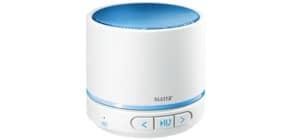 Lautsprecher WOW weiß/blau metallic LEITZ 6358-10-36 Mini Duo Colour Produktbild
