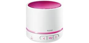 Lautsprecher WOW weiß/pink met. LEITZ 6358-10-23 Mini Duo Colour Produktbild