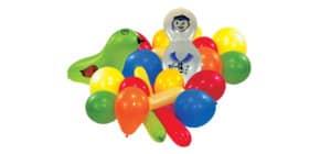 Luftballon Sommer sortiert 6470 20ST Produktbild