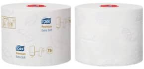 Toilettenpapier 3-lagig TORK 127510 Compact, 27 Rollen Produktbild