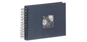 Fotospiralbuch Fine Art blau HAMA 90152 24x17cm Produktbild