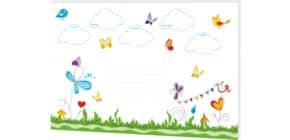 Schreibunterlage Schmetterlinge RNK 46630 30 Blatt 60x42cm Produktbild