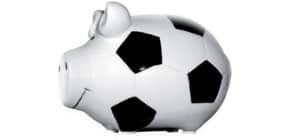 Spardose Schwein klein KCG 100862 Fussballschwein Produktbild