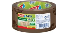 Verpackungsband 50mm 66m braun TESA 58155-0000 bedruckt Eco&Stron Produktbild