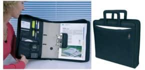 Ordnertasche A4 schwarz WEDO 58601 A4 Nylon Produktbild