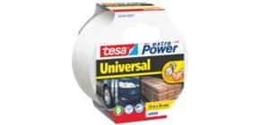 Gewebeband 48mmx10m weiß TESA 56348-5 ohne Abroller Produktbild