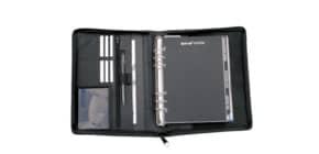 Zeitplaner A5 Leder schwarz BIND T 3-1 ohne Kalendarium RV Produktbild