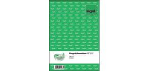 Gesprächsnotiz A5 hoch, 50BL SIGEL GE515 Produktbild