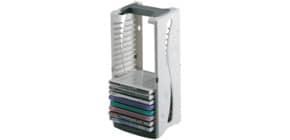 Tower für CDs lichtgrau Q-CONNECT KF04512 Produktbild