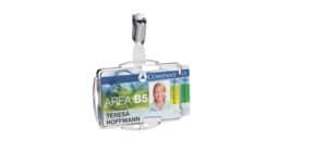 Kartenhalter RFID 10ST DUO silber DURABLE 890223 SECURE Produktbild
