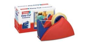 Tischabroller 66m 25mm rot/blau TESA 57422-00000-02 EasyCut Profess. Produktbild