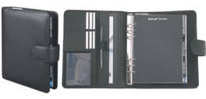 Ringbuchkalender A5 Leder schwarz BIND T 5-1 ohne Kalendarium Produktbild