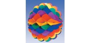Wabenball Regenbogen RIEHTMÜLLER 4054  28cm D. Produktbild