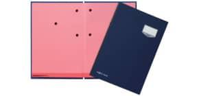 Unterschriftsmappe 20 -teilig blau PAGNA 24201-02 Leinen kaschiert Produktbild
