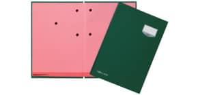 Unterschriftsmappe 20 -teilig grün PAGNA 24201-03 Leinen kaschiert Produktbild