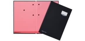 Unterschriftsmappe 20 -teilig schwarz PAGNA 24201-04 Leinen kaschiert Produktbild