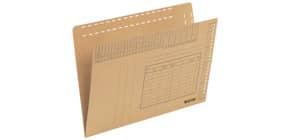 Einstellmappe für A4 braun LEITZ 2430-00-00 Karton braun Produktbild