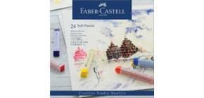 Softpastellkreiden 24 Stück sortiert GOLDFABER 128324 Kartonetui Produktbild