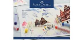 Pastellkreide Goldfaber 36ST FABER CASTELL 128336 Kartonetui Produktbild