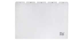 Leitregister A4 quer A-Z grau HAN 984 25-teilig Produktbild