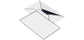 Kartenmappe Trauerpost A6/C6 5/5 weiß RÖSSLER 22313701 matt Produktbild
