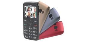 Mobiltelefon Komfort schwarz OLYMPIA Happy II mit Großtasten Produktbild