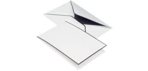Kartenmappe Trauerpost A6 LD/C6 5/5 weiß RÖSSLER 22373701 matt Produktbild