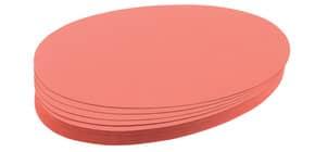 Moderationskarte 500 Stück rot FRANKEN UMZ111907 11x19 mm Produktbild