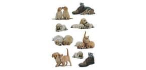 Schmucketikett Hundewelpen 27 Stück HERMA 5606 Produktbild