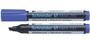 Boardmarker 293 blau SCHNEIDER SN129303 Keilspitze Produktbild