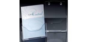 Prospekthalter A4hoch transp. SIGEL LH110 Tisch Acryl Produktbild