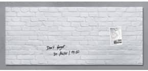 Magnettafel 130x55cm wh.Klink SIGEL GL244 artverumXL Produktbild