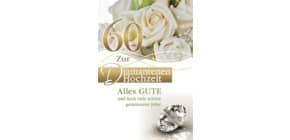 Diamantene Hochzeitskarte 73-509100   Bild Produktbild