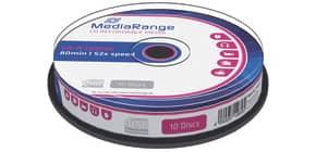 CD-R 10er Spindel MEDIARANGE MR214 700Mb80min Produktbild