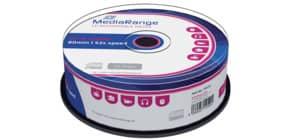 CD-R 25er Spindel MEDIARANGE MR201 700Mb80min Produktbild