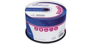 CD-R 50er Spindel MEDIARANGE MR207 700Mb80min Produktbild