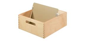 Karteitrog Holz A5 quer HAN 505-0 für 500-900 Karten Produktbild