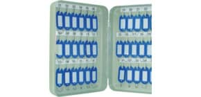 Schlüsselschrank für 36 Schlüssel grau Q-CONNECT KF04272 Produktbild