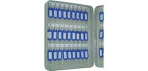 Schlüsselschrank für 54 Schlüssel grau Q-CONNECT KF04273 Produktbild