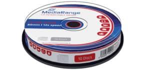 CD-RW 10erSpinde MEDIARANGE MR235 700Mb80min Produktbild