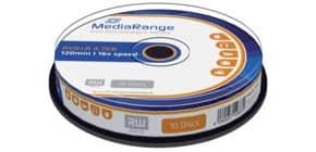 DVD+R 10er Spindel MEDIARANGE MR453 4,7Gb120mi Produktbild