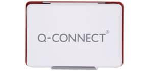 Stempelkissen Gr.3 9x5,5cm rot Q-CONNECT KF16316 Produktbild