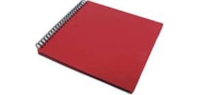Fotospiralbuch 29x29cm rot SOHO 1329452367 Produktbild